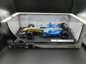Hot Wheels 1:18 Fernando Alonso Renault R26 F1 World Champion 2006 J2982
