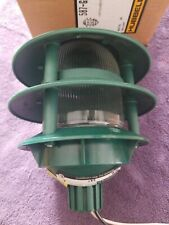 NOS 2-Tier Green Outdoor Landscape Path Light Hubbell Lighting 587-G