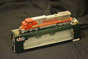 "KATO 37-1203 GE C44-9W ""DASH 9"" Santa Fe #600 HO gauge USA MINT"