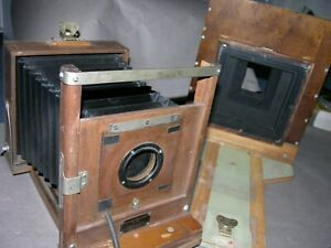 """Eastman View Studio Camera No. 33A 5x7"""" Plate Modified with Sliding Back"""