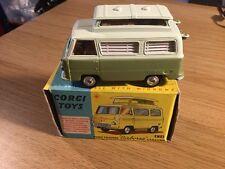 In scatola CORGI 420 FORD Thames AIRBORNE Caravan ottime condizioni