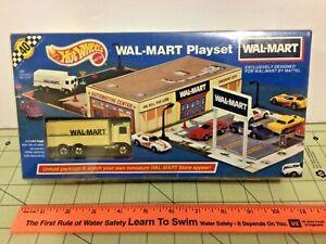 RARE Vintage Hot Wheels Wal-Mart Playset 1991, Sealed, Hiway Hauler, NIB!