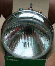 "TRIUMPH T140 TR7 T150 GENUINE LUCAS 7"" H4 HEADLIGHT COMPLETE HEADLAMP 99-1267"