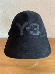 Adidas Yohji Yamamoto Y-3™️Black Baseball Cap.Adjustable. Original(2017)One Size