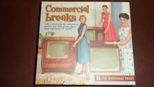 Commercial Breaks TV Adverts - National Trust: 2 x CD Set  44 Tracks