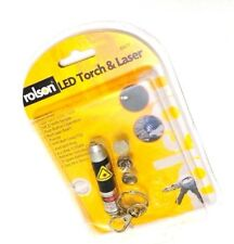 New Rolson Brand LED Torch & Laser