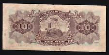 KOREA SOUTH 10 WON P33C 1964 TORTOISE WARSHIP RARE KOREAN MONEY BILL BANK NOTE