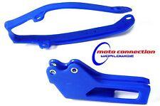 Yamaha Wr250f Wr450f Wrf 09-13 Enduro Azul Basculante Cadena deslizador Y Guia 4807