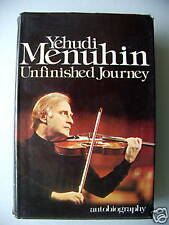 Yehudi Menuhin Unfinished Journey 1977 Biografie