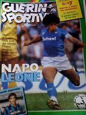 GUERIN SPORTIVO=N°43 1985=MARADONA COVER