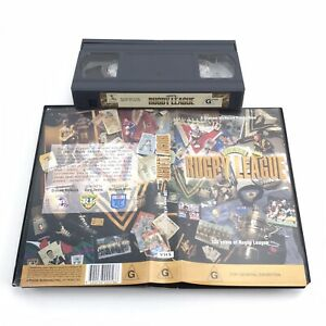 That's Rugby League 100 Years of Rugby VHS rare PAL Rated G NRL RL