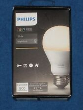 Philips Hue A19 Connected White LED Light Bulb, New!