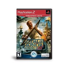 Medal Of Honor Rising Sun For PlayStation 2 PS2 5E