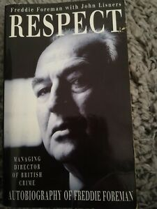 Respect: Autobiography of Freddie Foreman Paperback Book