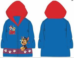 Regenmantel PAW Patrol Kinder Regenjacke Regen Jacke Mantel Regenkleidung Cape