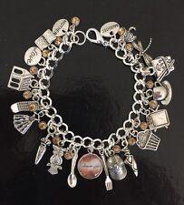 Gilmore Girls Charm Bracelet, Stars Hollow, Lorelai, Rory, Luke, Tv Show
