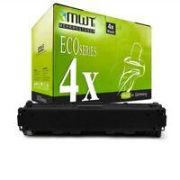 4x Eco Toner Black per Canon i Sensys MF-632-Cdw MF-635-Cx MF-631-Cn LBP-613-Cdw