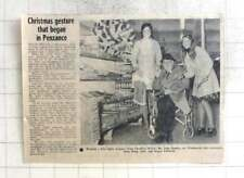 1974 Woolworths Shop Assistants Jane Wing, Karen Edwards, John Tonkin Long Rock