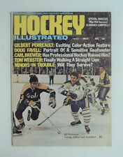 January 1972 Hockey Illustrated NHL Magazine Perreault  Sabres FLASH SALE