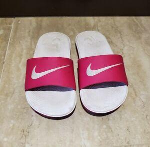 Nike Slides/Sandals Hot Pink Girls Size 12