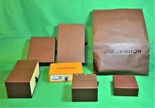 Authentic Louis Vuitton EMPTY presentation box choose your size & color