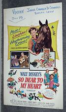 SO DEAR TO MY HEART original DISNEY movie poster BOBBY DRISCOLL/LUANA PATTEN