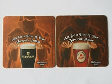 Beer Breweriana Coaster: Guinness Drought >< Favorite Potion >< Halloween 1999