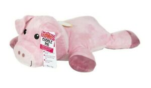 "NWT Melissa and Doug Cuddle Pig 🐷 28"" Large Plush Stuffed Animal Pillow"
