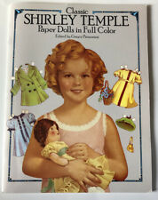 NEW Shirley Temple Paper Dolls 1986