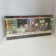 Panoramic Puzzle Times Square New York City 750 Piece New Sealed Vintage