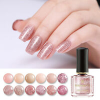 BORN PRETTY 6ml Nail Polish Rose Gold Series Glitter Sequins Nail Art Varnish