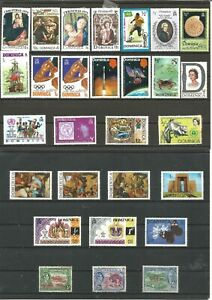 Dominica Different stamps