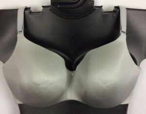 46D Invisible Back Smoothing Balconette ALLOY GRAY  Cacique Lane Bryant Bra New