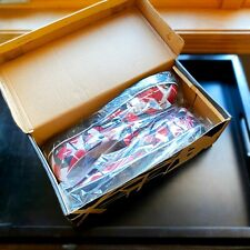 NEW IN BOX Official EVH Eddie Van Halen Slip On shoes Sz 10 Red/Black/White