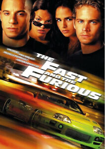 The Fast And The Furious Movie Poster Available in A2 & A1