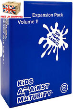 KIDS AGAINST MATURITY VOLUME 1 EXPANSION (Official Version) | Family Card Game