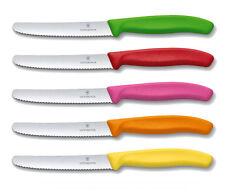 VICTORINOX Tafelmesser Bunt NEU/OVP Tomatenmesser Küchenmesser 5er SET mit pink