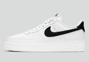 Nike Men's Air Force 1 '07 White Black CT2302-100 Sizes 7-12