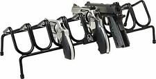 Handgun Rack Pistol Gun Stacking Revolver Safe Storage Stand Display 8 Holder