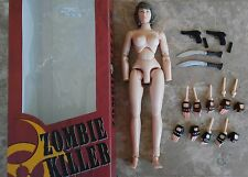 1/6 Brother Production Zombie Killer Alice Resident Evil Extinction Partial Set