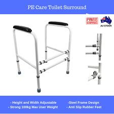 Toilet Surround Safety Frame Steel, Width Adjusting Hand Rail Grab Bar Aus