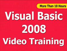 Visual Basic 2008 video training tutorial CBT - 10+ Hrs