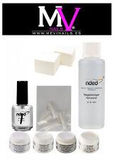 Kit gel UV nded alta Qualità. gel da unghie, cellulosa, clenaer, primer  y tips