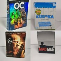 Lot of 4 DVD Season 1 of Eureka - 24 - HBO's Mad Men and Season 2 of The O.C.