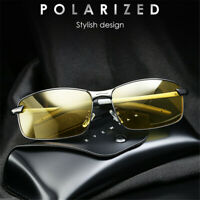 Aluminium Frame Night Vision Driving Glasses TAC HD Polarized Sunglasses Eyewear