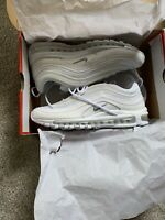 Men's Shoe Air Max 97 921826-101 White/Wolf Grey Size 10