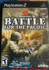 History Channel: Battle for the Pacific (Sony PlayStation 2, 2007) ps2 new