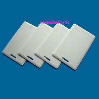 50Pcs Thick RFID 125KHz Writable Rewritable T5577 Card Proximity Access Card
