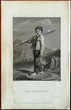 The Orphan Boy by Cristall, Perkins & Bacon Vintage Small Print