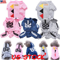 Dogs Puppy Pet Large Dog Winter Warm Hoodie Coat Jacket Clothes Clothing Sweater